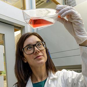 Maria Karlgren är forskare i läkemedelsformulering