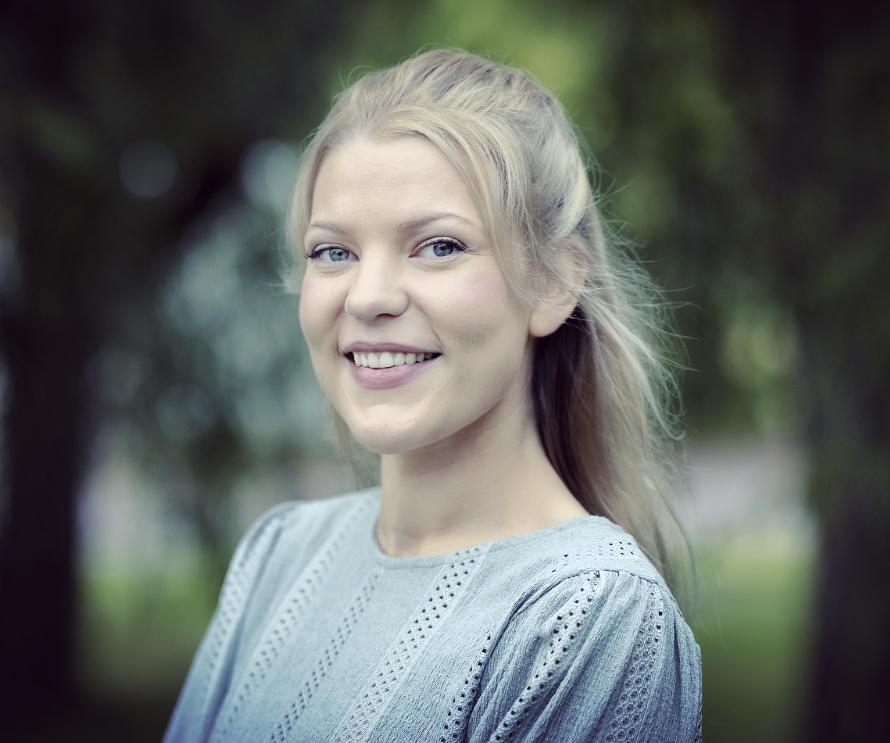 Andrea Benediksdottir, ordförande i Farmaceutiska doktorandrådet