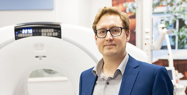 Olof Eriksson, forskare i translationell avbildning, farmaceutiska fakulteten
