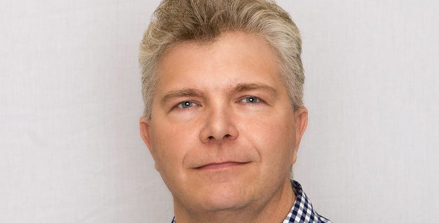 Joachim Gullbo, apotekarutbildad vid Farmaceutiska fakulteten