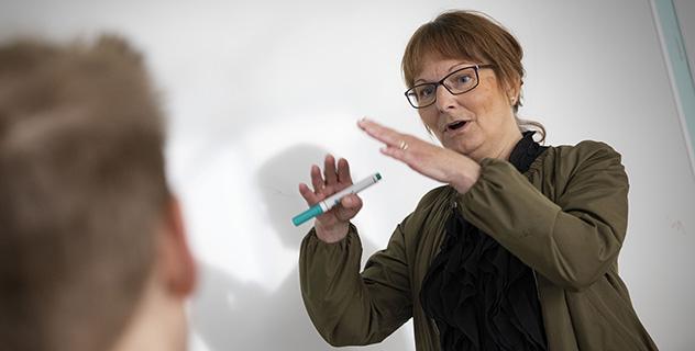 Anne-Lie Svensson, lektor vid institutionen för farmaceutisk biovetenskap