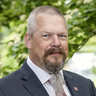 Anders Backlund, prodekan, utbildning på forskarnivå
