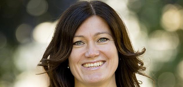 Anja Sandström, ny professor i läkemedelskemi