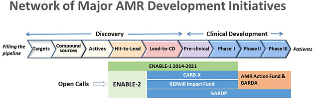 ENABLE-2 in the AMR network